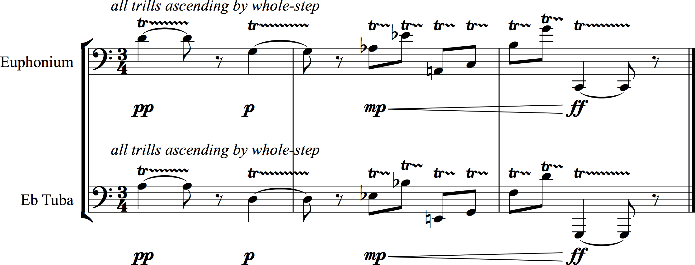 i  Valve trills – The Composer's Guide to the Tuba